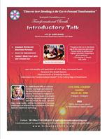Publisher Flyer for Introductory Talk
