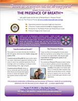 Publisher Flyer for Presence of Breath™