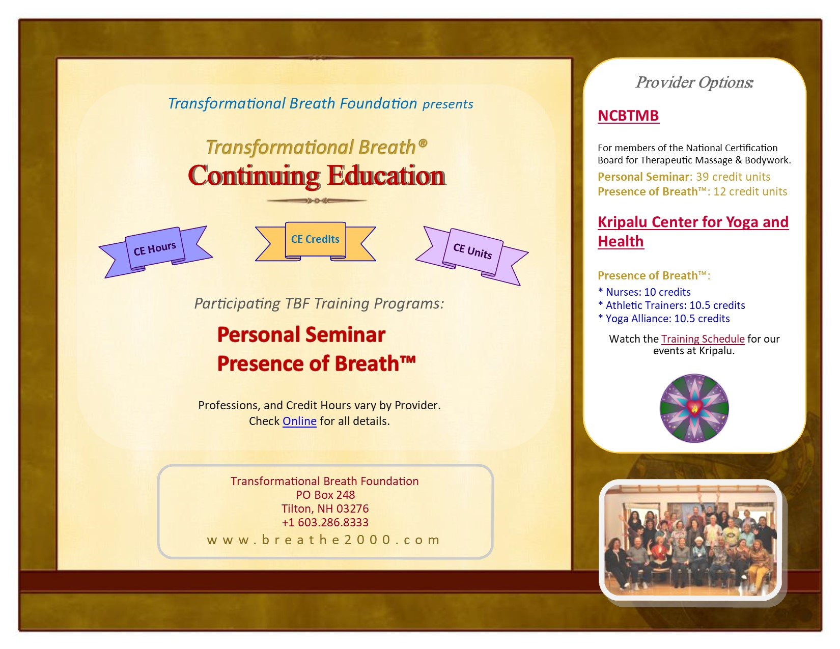 Full-size image of CEU flyer